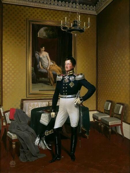 Франц Крюгер, «Принц Фридрих Вильгельм Генрих Август Прусский», 1817 г.
