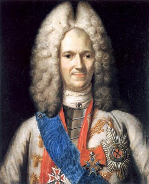 Неизвестный художник, «Портрет А. Д. Меншикова», 1716—1720 гг.