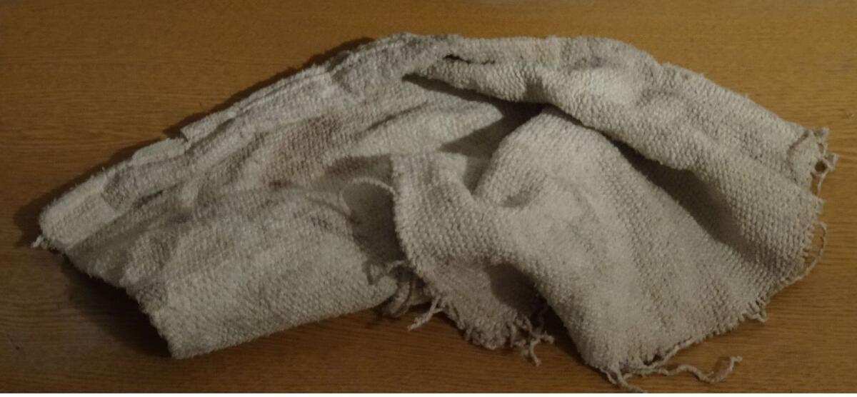 Огнеупорная асбестовая ткань
