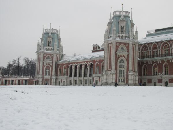 Царицыно зимой. Какие мысли навевает это место?