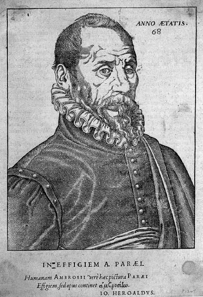 Амбруаз Паре, портрет из книги