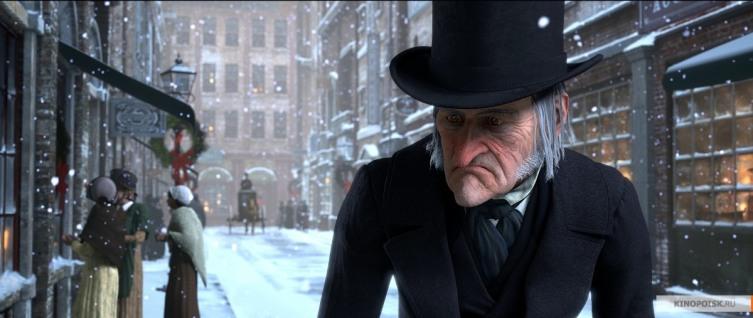 Кадр из м/ф «Рождественская история», 2009 г.