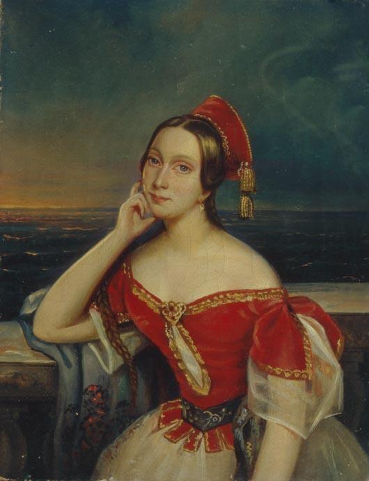 Неизвестный художник, «Мария Тальони»