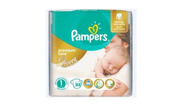 Какой новогодний подарок получили новорожденные? Pampers Premium Care в новом дизайне