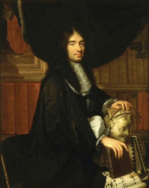 Ф. Лаллеман, «Портрет Шарля Перро», 1665 г.