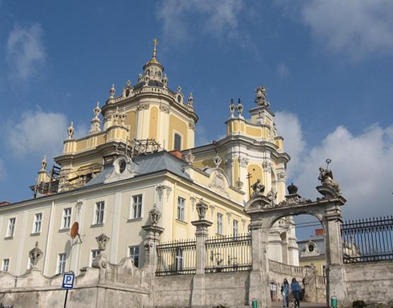 Кафедральный собор Святого Юра во Львове