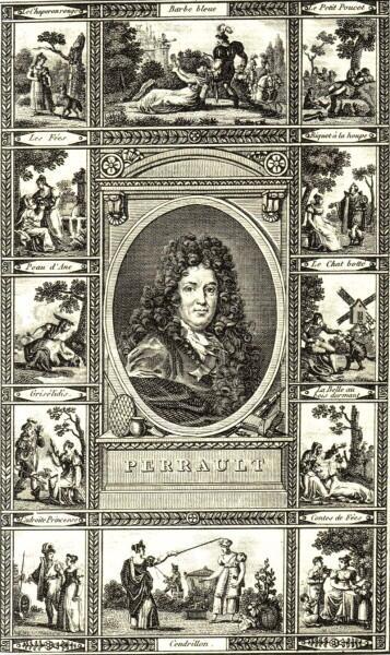 Раннее издание сказок с портретом автора