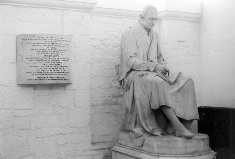 Памятник Уатту скульптора Френсиса Легата Чантри