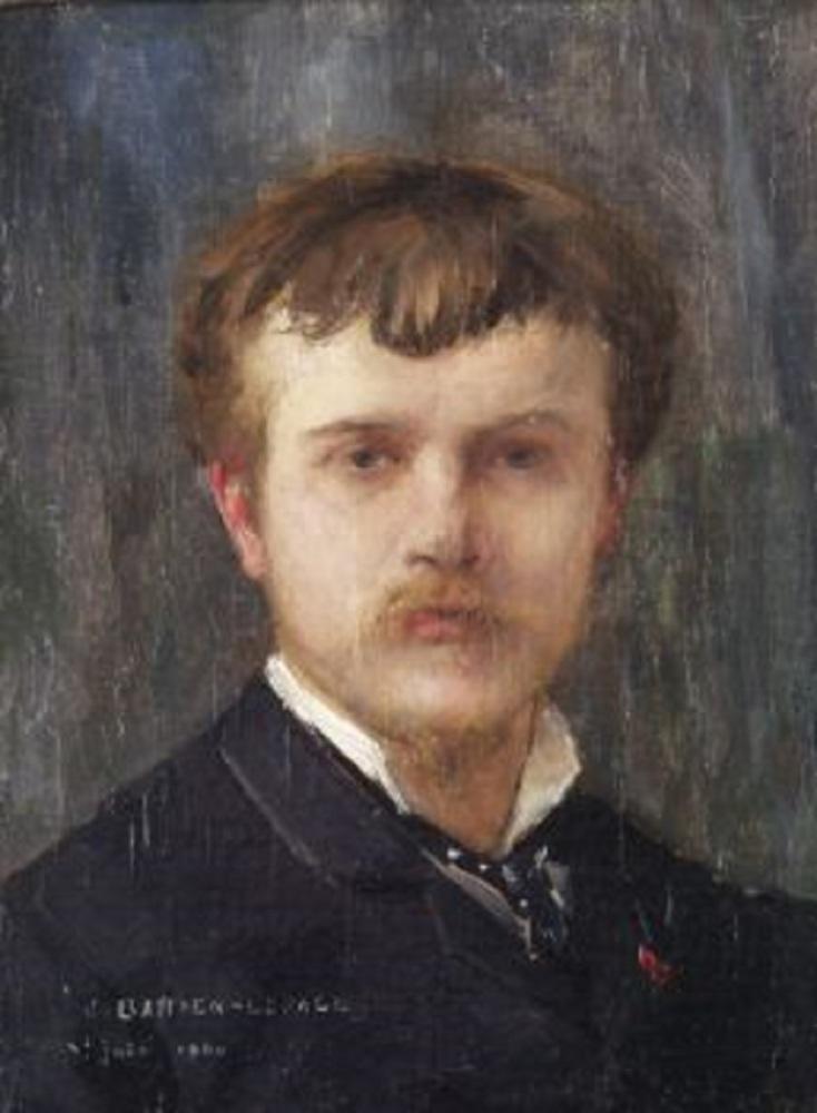 Бастьен-Лепаж, Автопортрет, 1875, частная коллекция