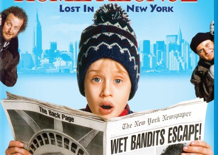 Постер к фильму «Один дома - 2»