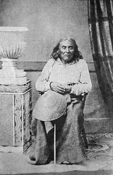 Единственное фото вождя по имени Си'атль (siʔaɬ), чьё имя было транскрибировано как Seattle