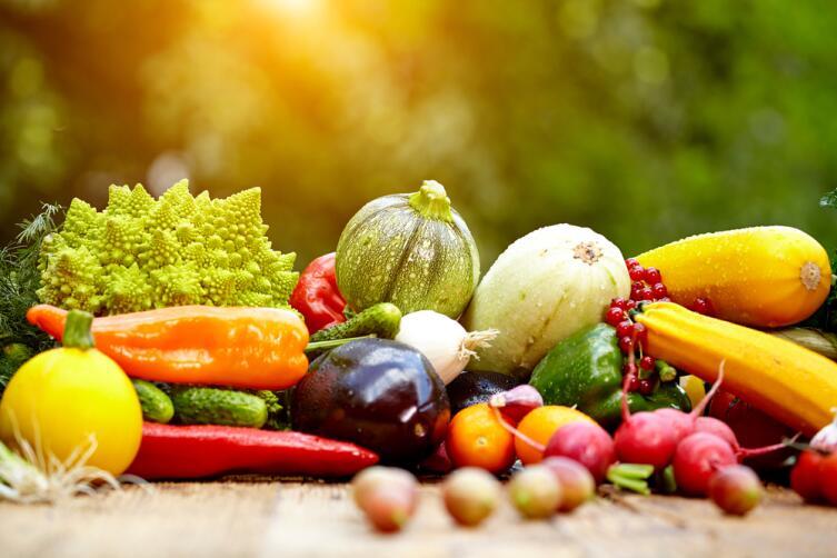 Ешьте больше овощей и фруктов