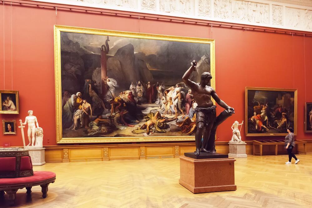 Из цикла «Куда пойти в Питере?» В Русский музей!