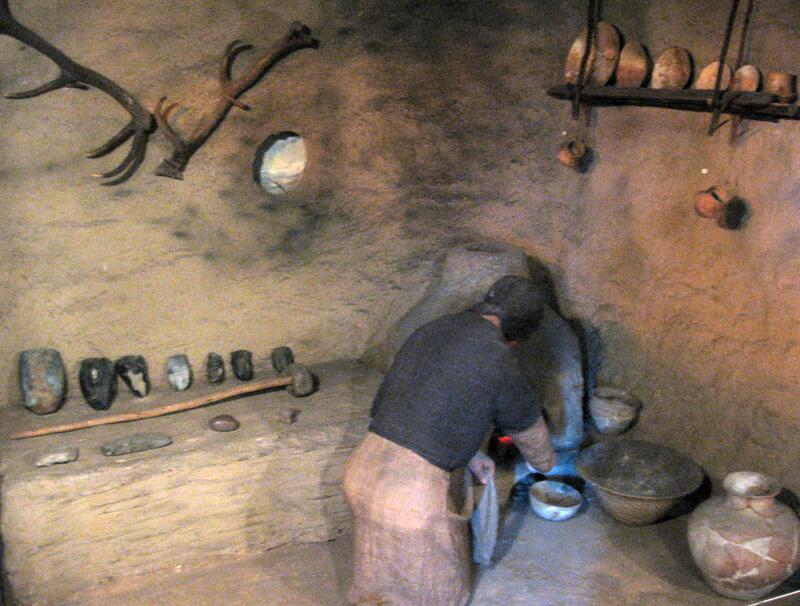 Реконструкция жилья трипольской культуры