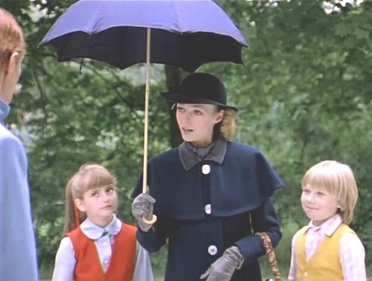 Кадр из к-ф «Мэри Поппинс, до свиданья» (1984)