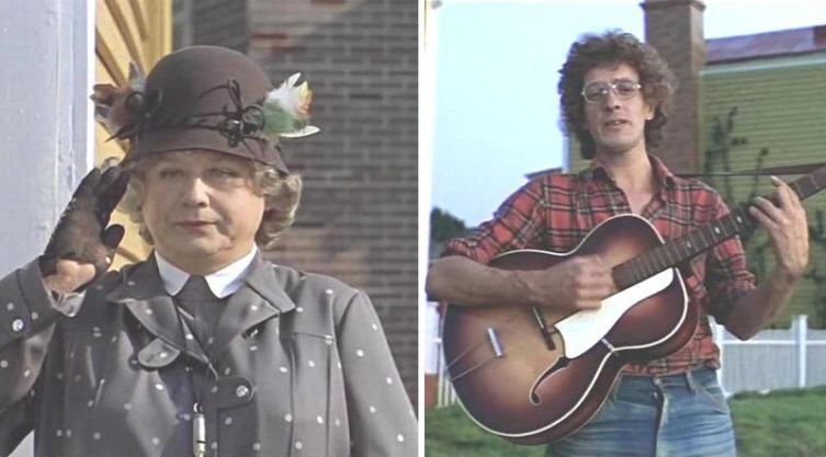 Миссис Эндрю и мистер Эй. Кадр из к-ф «Мэри Поппинс, до свиданья» (1984)