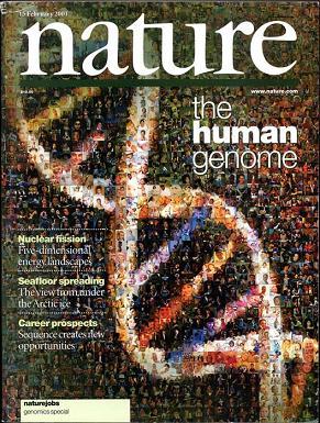 Обложка журнала Nature
