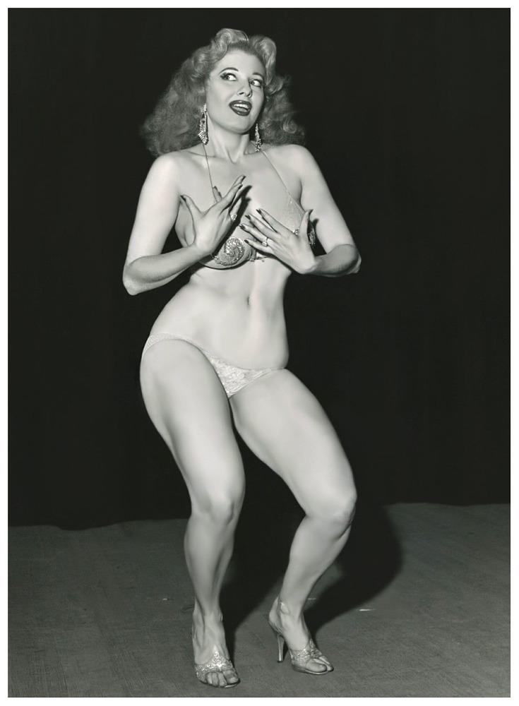 Темпест Сторм - 1950-е годы