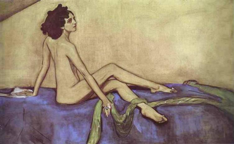 В. Серов «Портрет Иды Рубинштейн в роли Саломеи», 1910 г.