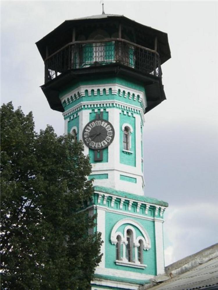 Александрия Украинская. Пожарная каланча с курантами