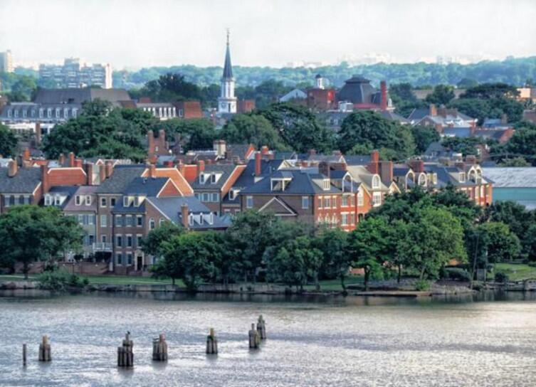Старый город, Александрия, Вирджиния