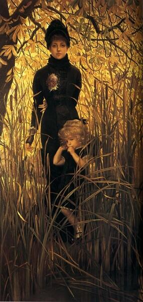 Джеймс Тиссо, Сирота, 1879 г., 215х109 см, частная коллекция