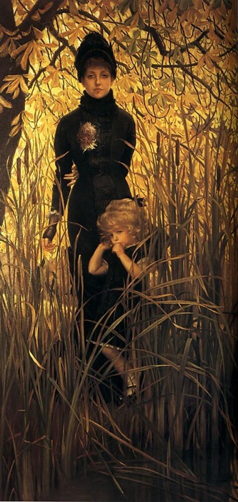 Джеймс Тиссо, Сирота, 1879, 215х109 см, частная коллекция