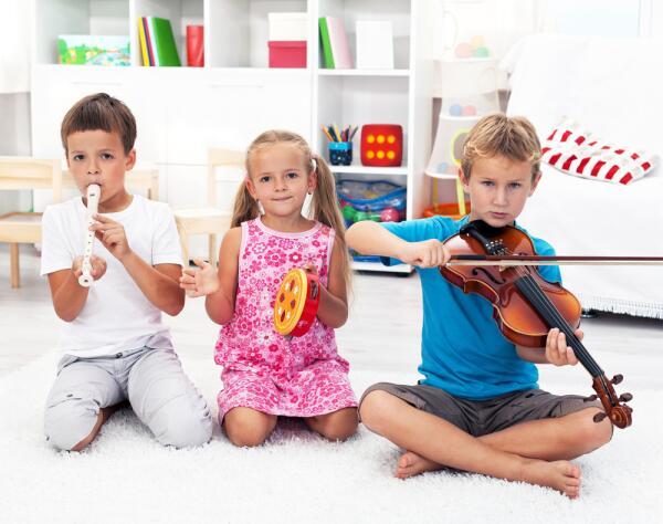 Какими бывают музыкальные инструменты?