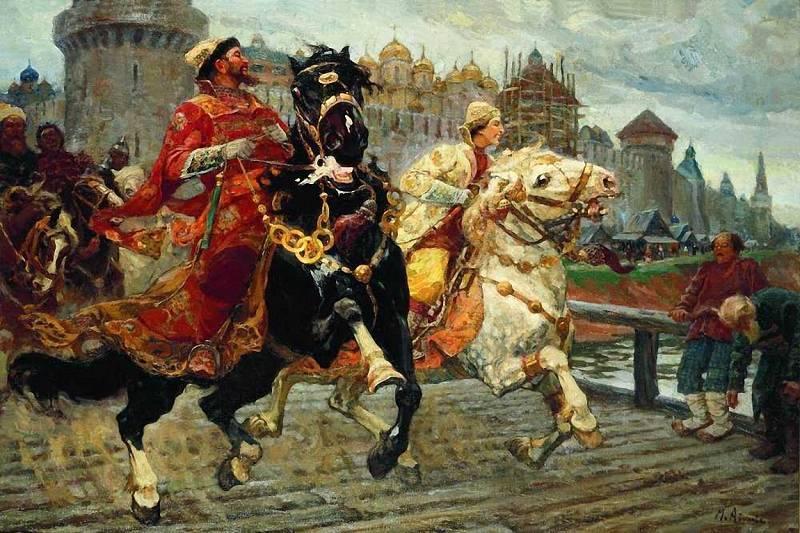 М. И. Авилов, «Царевич Иван Иванович на прогулке»