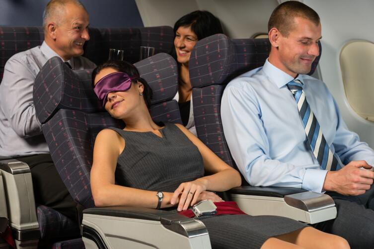 Обеспечьте себе максимально возможный комфорт во время полета