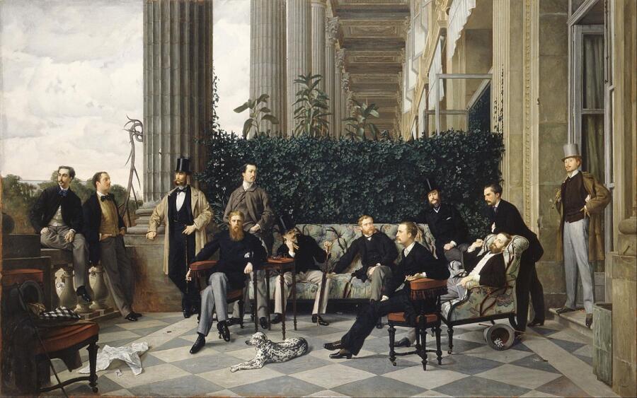 Джеймс Тиссо, «Общество на улице Ройял», 1868 г.