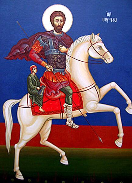 Святой Полководец Саркис