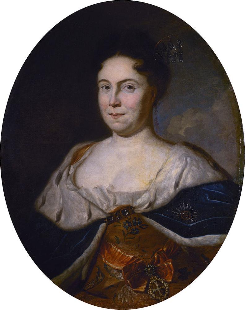 Карел де Моор, «Портрет Екатерины I», 1717 г.