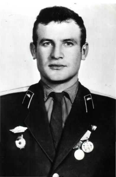 Командир батальона Маркин Н.К. Фото 70-х г.г.