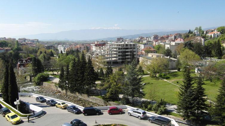 Город Сандански в Болгарии