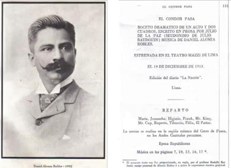 Даниэль Роблес первым обработал мелодию «El condor pasa»