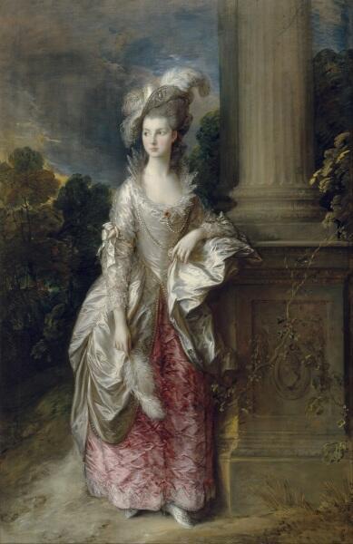 Томас Гейнсборо, «Портрет миссис Грэм», 1775 г.