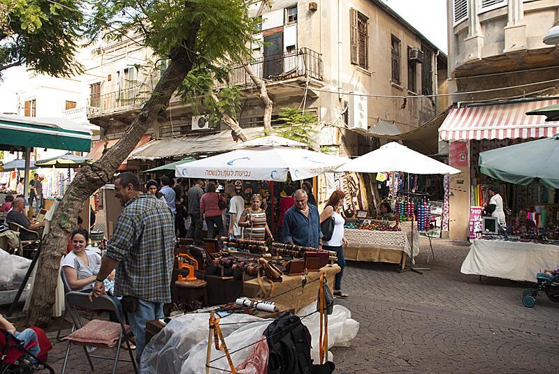 Барахолка в пригороде Яффо
