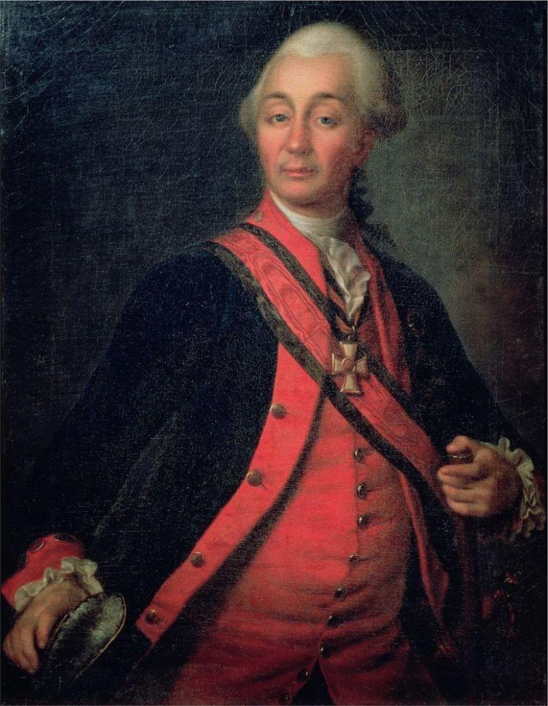 Д. Г. Левицкий, «Портрет А. В. Суворова», ок. 1786 г.