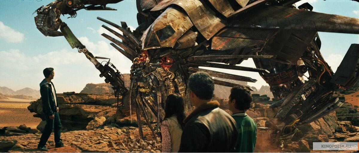 Кадр из к/ф «Трансформеры: Месть падших»