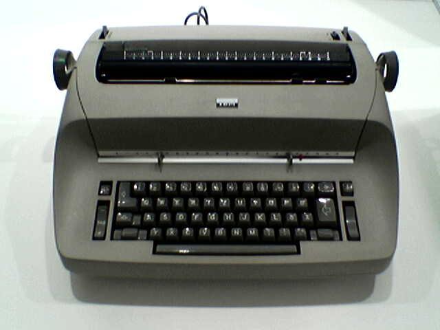 Электрическая пишущая машинка «IBM Selectric», 1961 г.