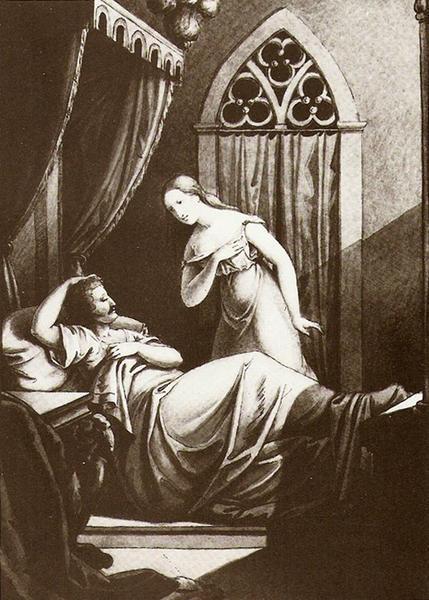 «Свершились милые надежды, Любви готовятся дары, Падут ревнивые одежды На цареградские ковры...»