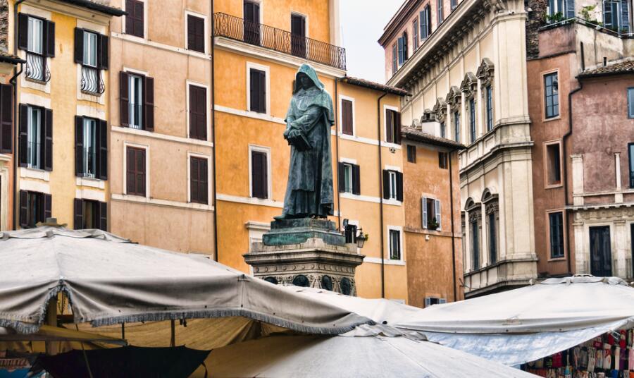 Статуя Джордано Бруно в Риме