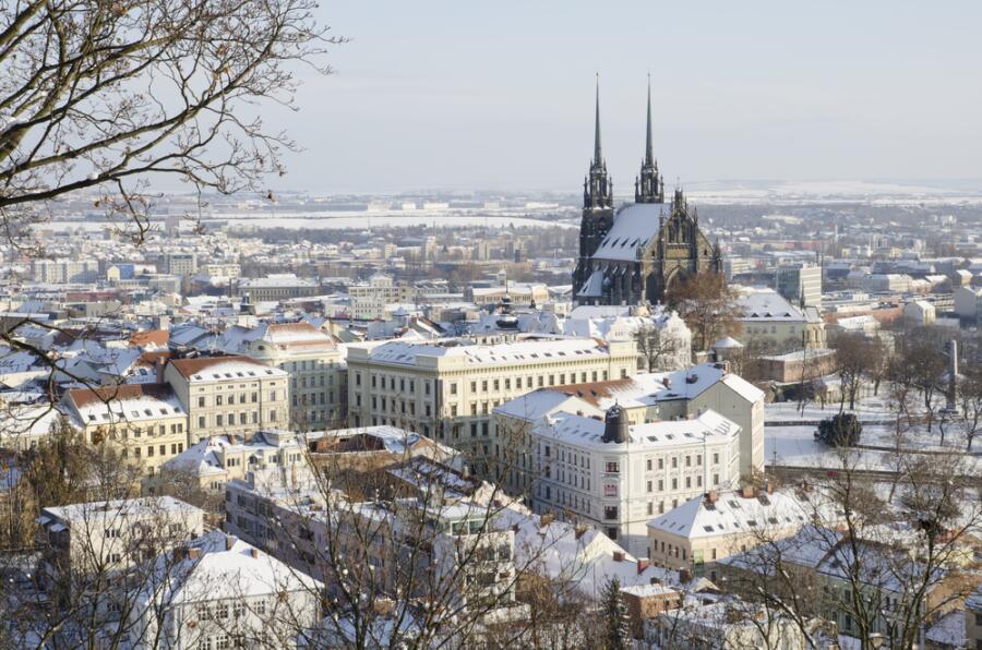 Исторический центр города Брно
