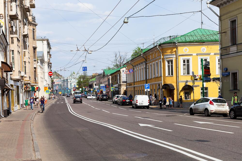 Улица Покровка, город Москва