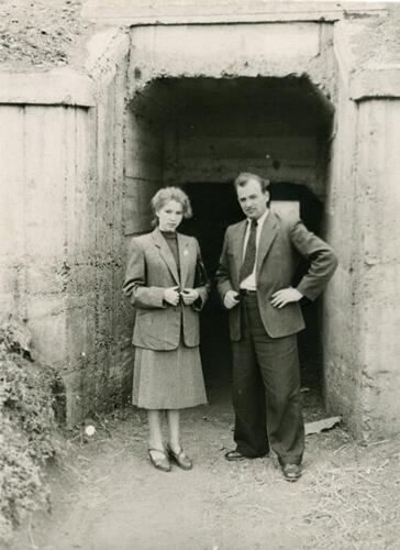 Р.М. и М.С.Горбачевы, Ставрополь, конец 1950-х