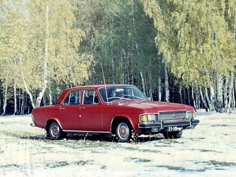 Испытания ГАЗ-3102, 1977 год