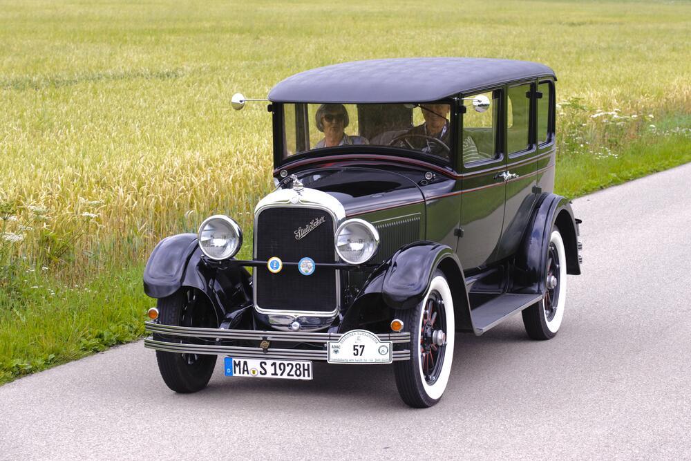 Студебеккер седан, 1928г