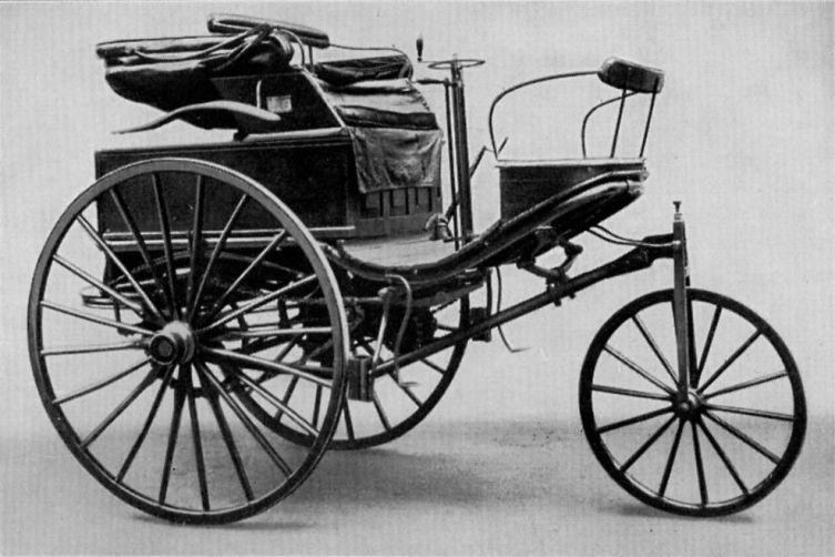 Benz Patent-Motorwagen Nr. 3,1888 г.