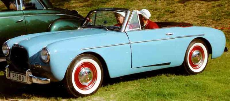 Volvo P1900 Sport Cabriolet 1956